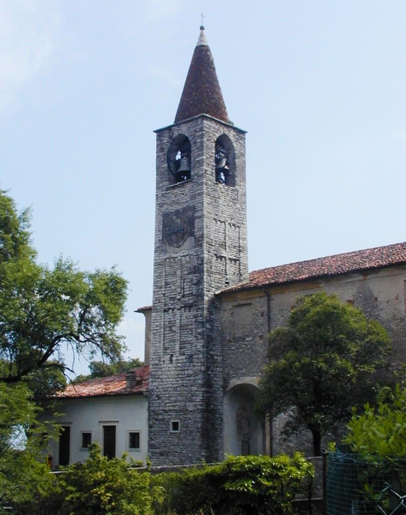 15b---Tremosine,-pieve-di-San-Giovanni-Battista,-parete-nord-e-campanile.